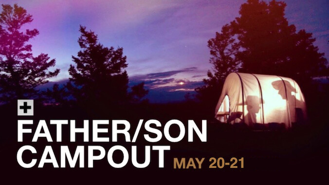 Father/Son Campout
