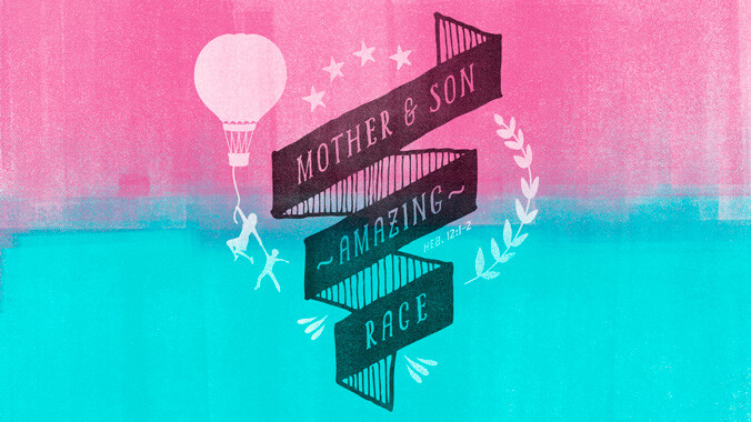 Mother Son Amazing Race