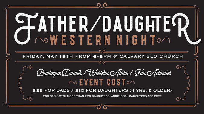 Father Daughter Western Night
