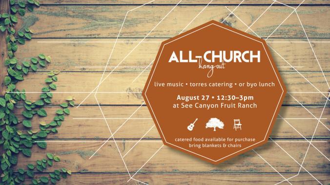 All-Church Hangout + Picnic