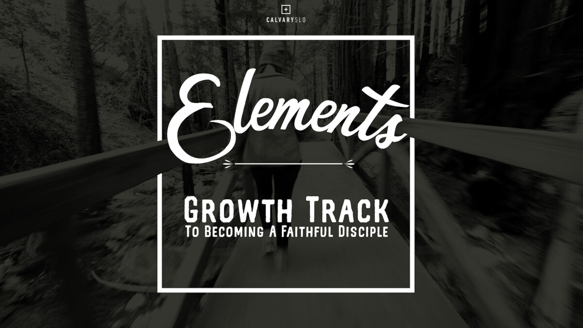 Elements - Growth Track to Becoming a Faithful Disciple