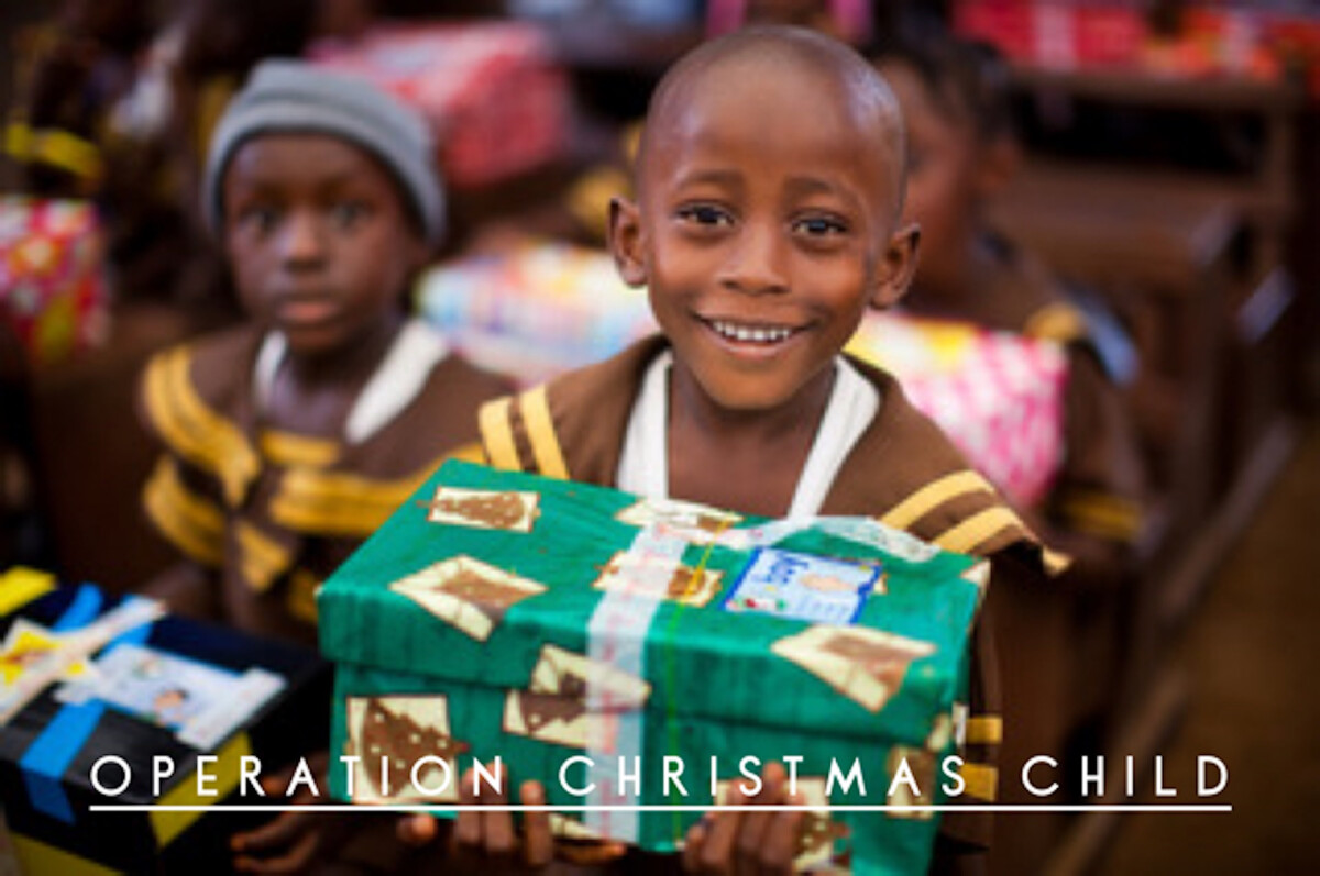 Operation Christmas Child Box Packing Party