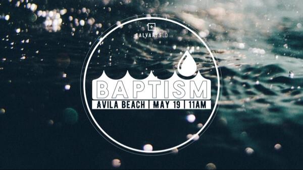 Baptism at Avila Beach