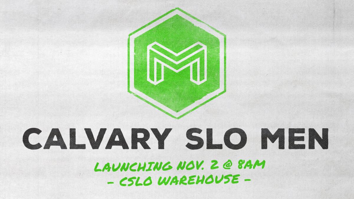 Calvary SLO Men - Fall Kick-off!