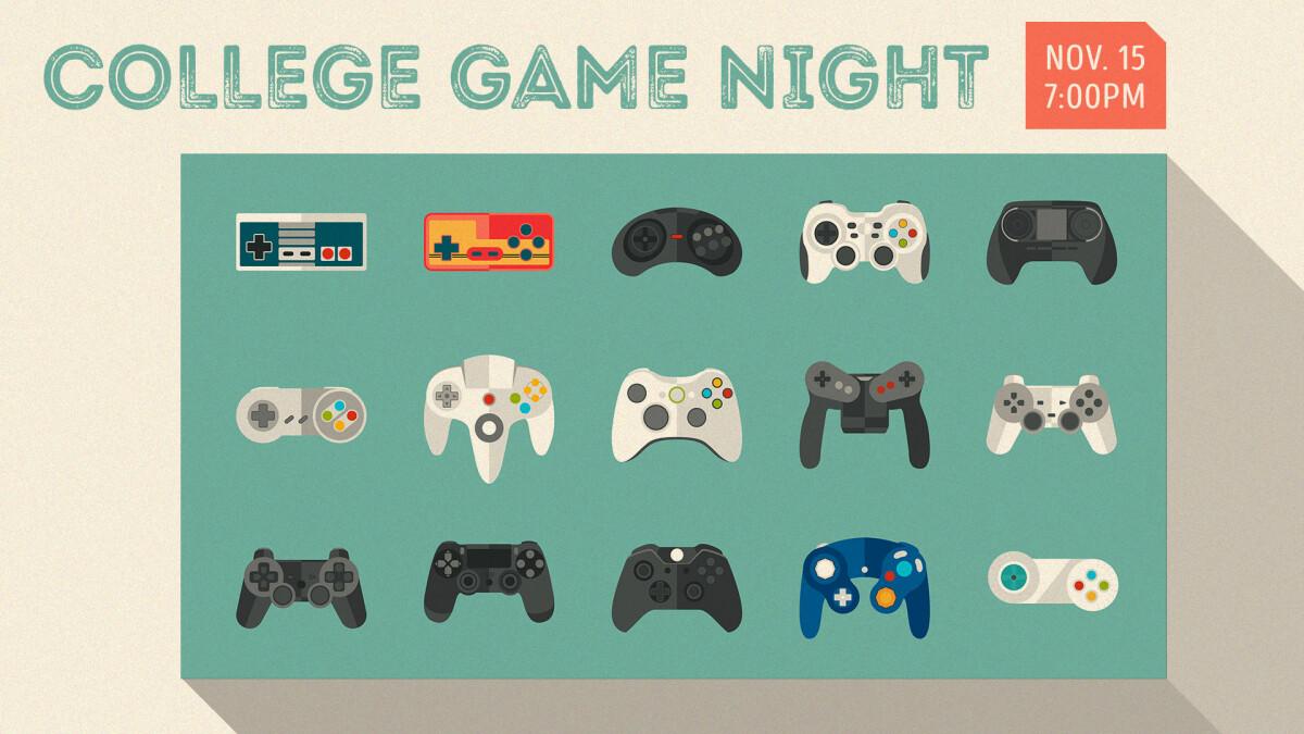 College Game Night!