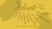Advent 2019 - Hope