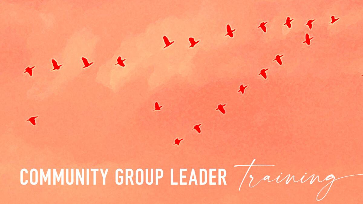 Community Group Leader Training